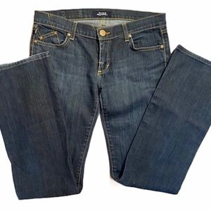 Rock & Republic straight leg  jeans .dark blue ,